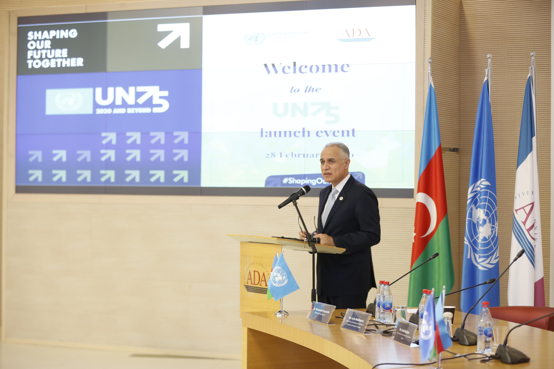 UN75 initiative is launched in Azerbaijan