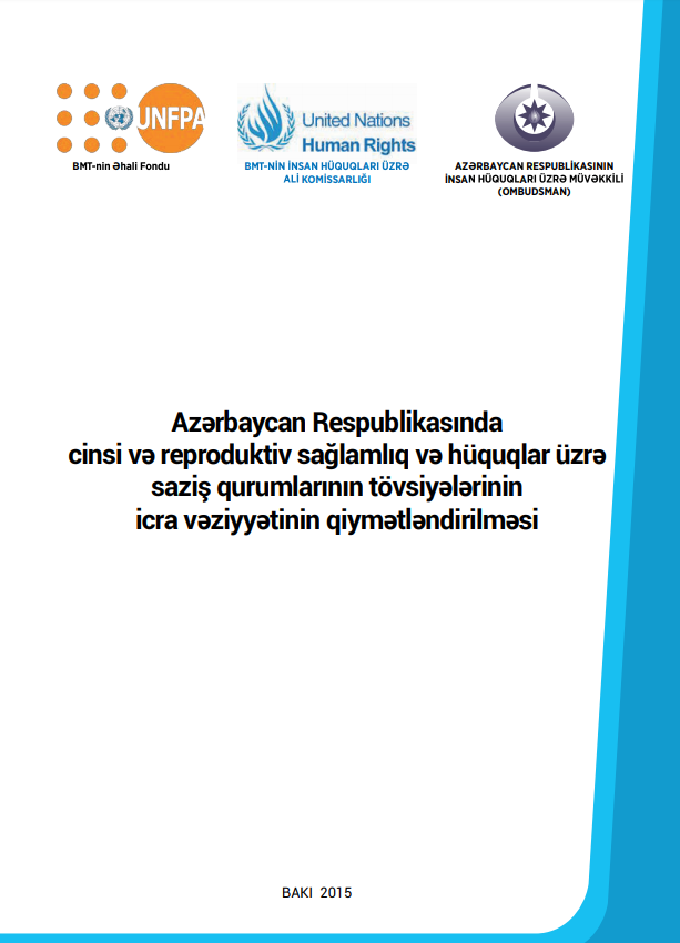 Assessment of the implementation status of treaty body recommendations on sexual and reproductive health and rights in Azerbaijan