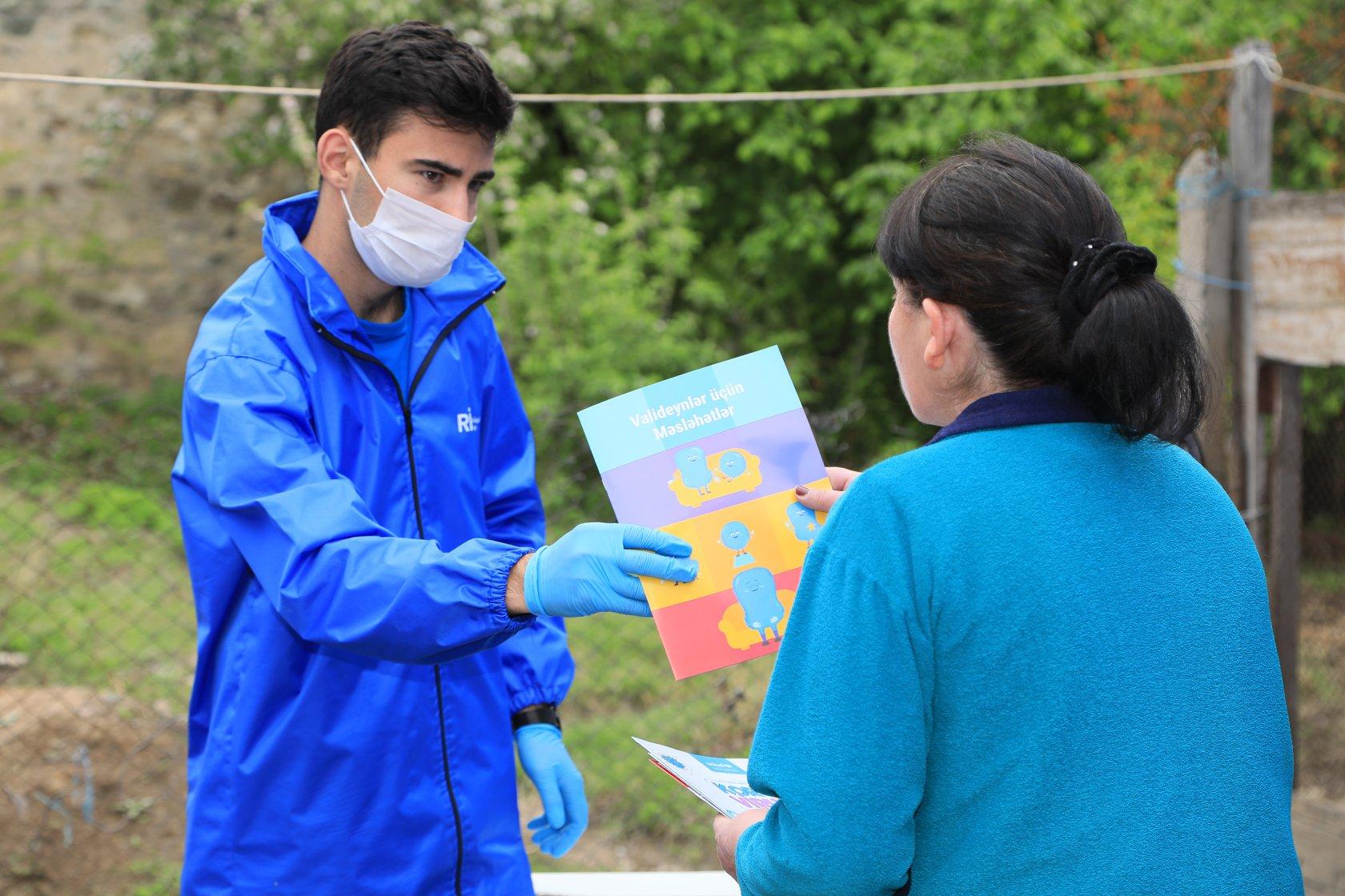Volunteers on the frontline of the COVID-19 response in Azerbaijan