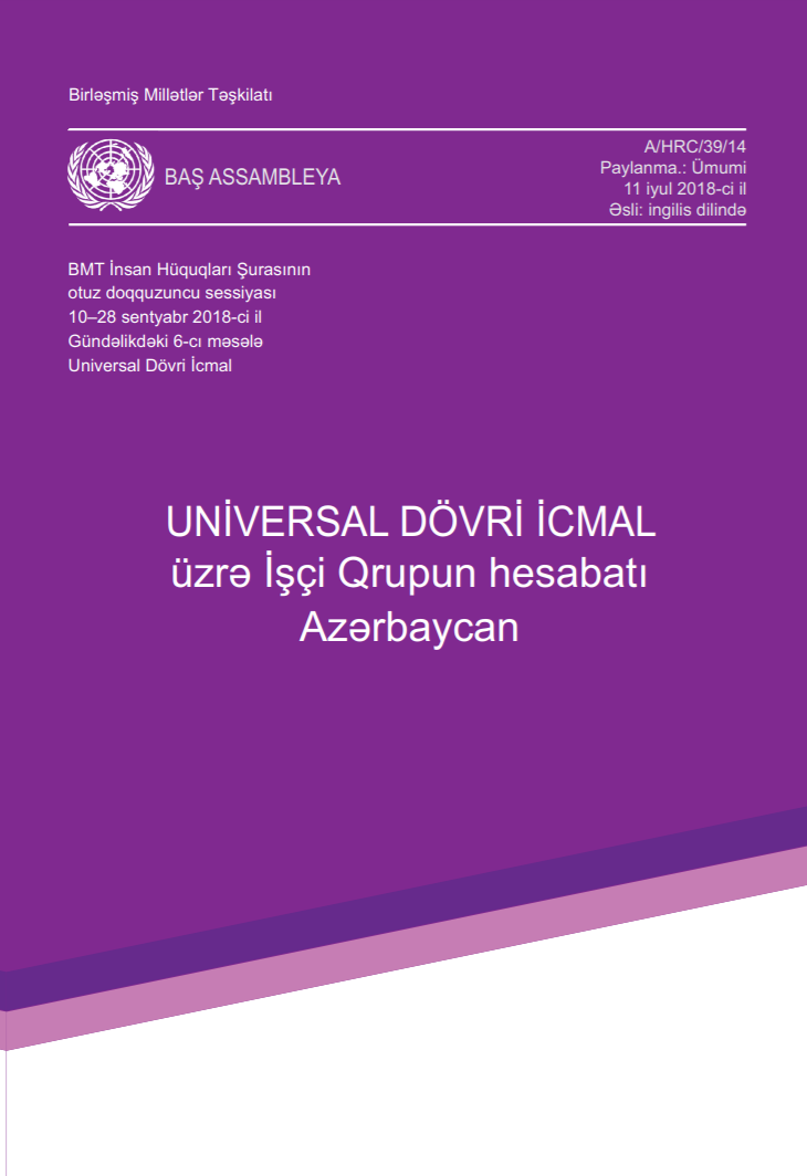 Report of the Working Group on the Universal Periodic Review of Azerbaijan