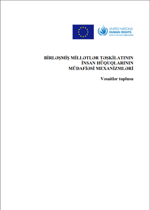 Azerbaijan working group UPR report for 2009