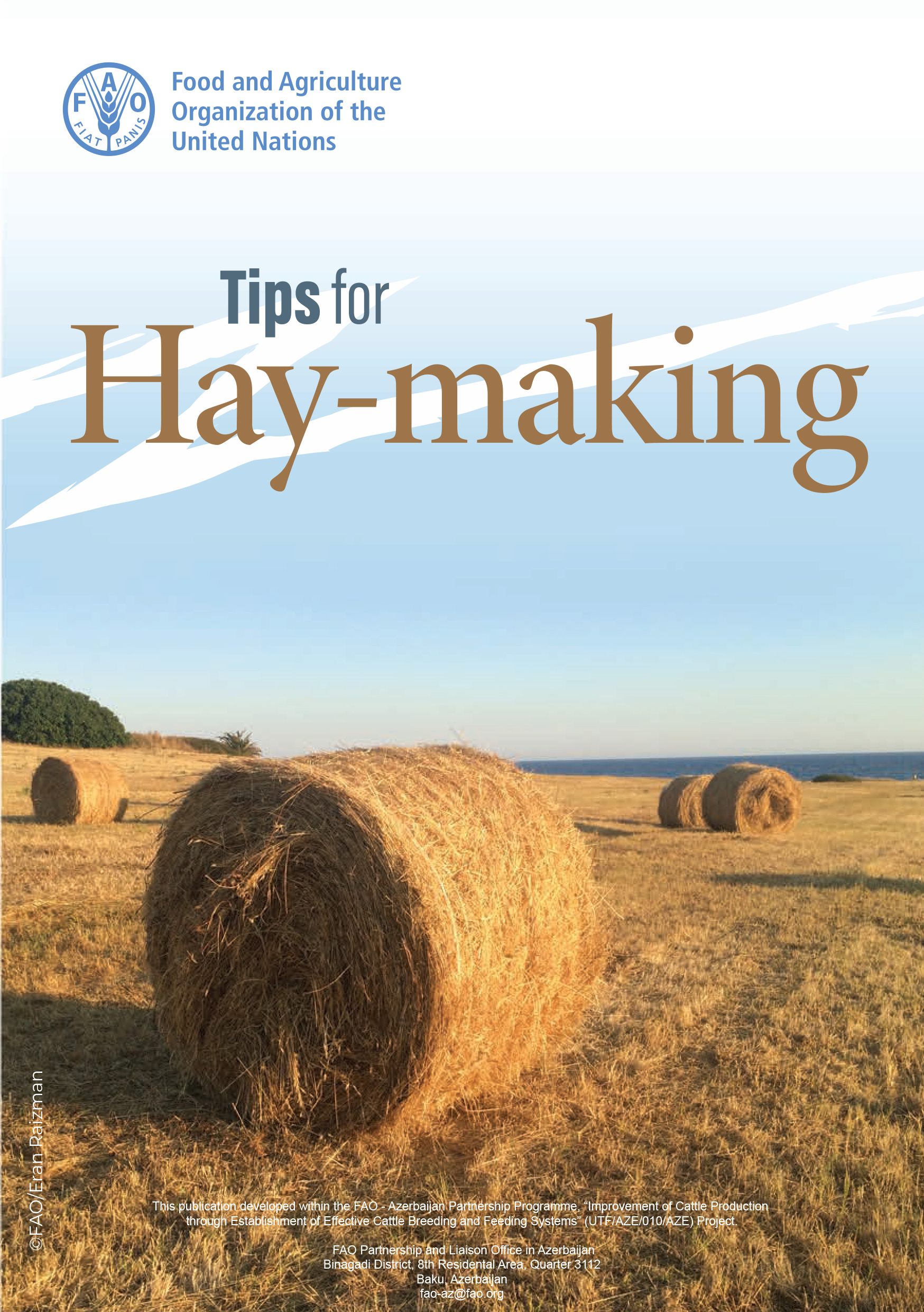 Tips for Hay-making