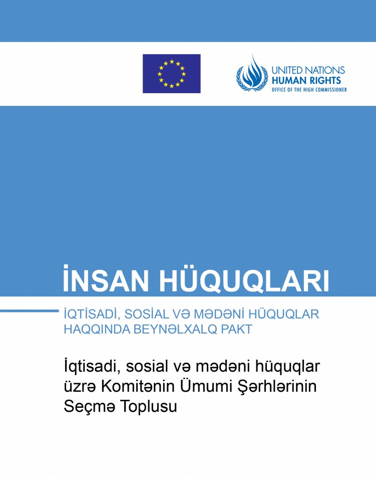A Compilation of the key General Comments of Committee on Economic, Social and Cultural Rights (CESCR)