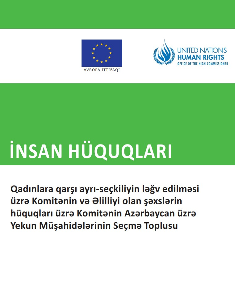 A compilation of key CEDAW and CRPD Concluding Observations on Azerbaijan