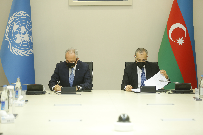 UN, Azerbaijan sign new Cooperation Framework for 2021-2025