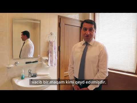 Safe Hands campaign - Hikmat Hajiyev, Assistant to the President