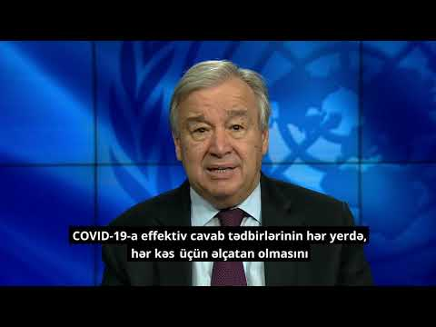 Secretary-General: Message to online summit of the Non-aligned Movement contact group  in response to COVID-19