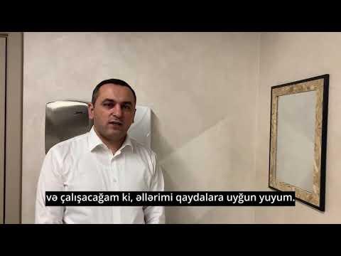 Safe Hands campaign - Ramin Bayramli, head of TABIB