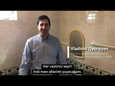 Safe Hands campaign - Vladimir Gjorgjiev, head of IOM mission in Azerbaijan